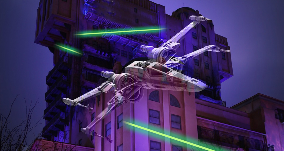 Season of the Force flying into Disneyland Paris