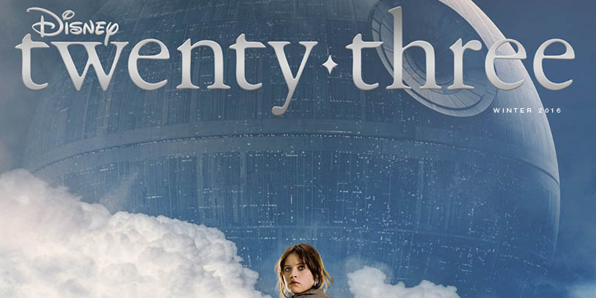 Disney Twenty-Three joins the Rebellion to celebrate the arrival of Rogue One