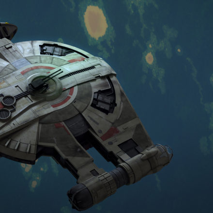 "STAR WARS REBELS: ""Iron Squadron"""