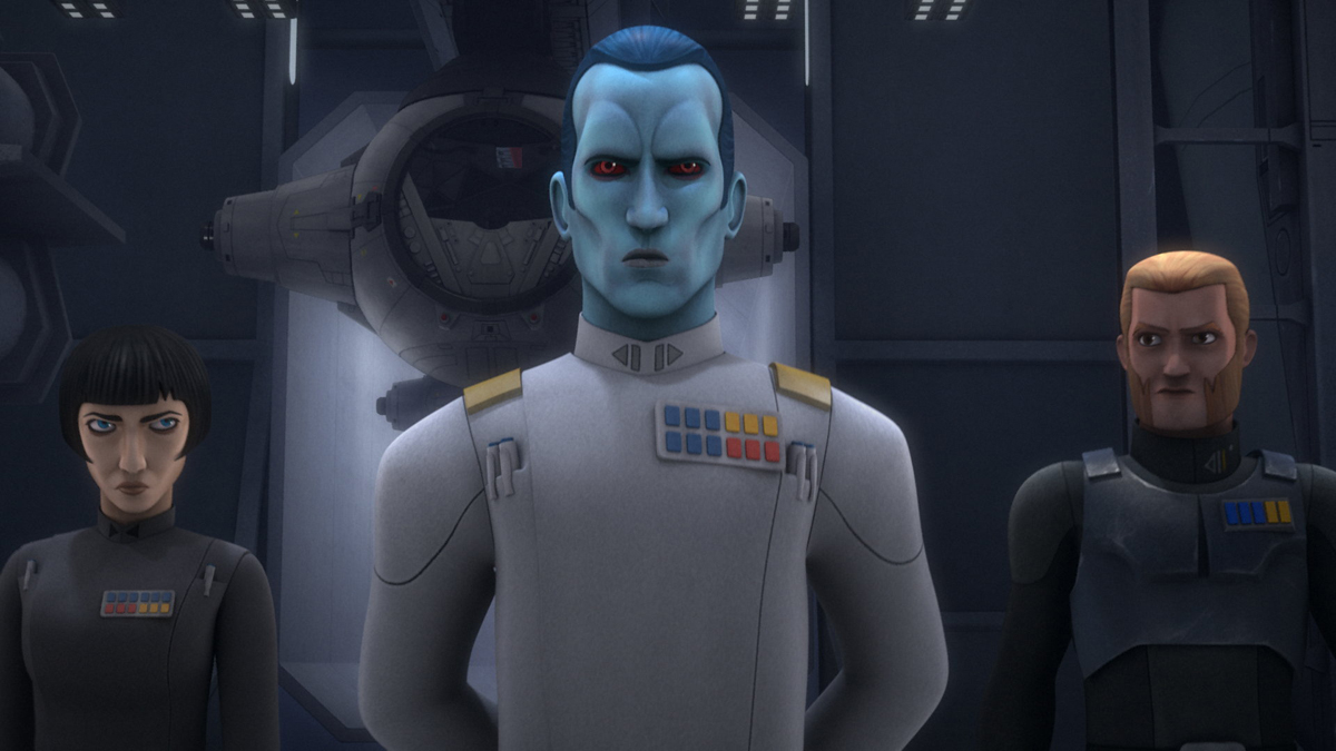 "Star Wars Rebels ""An Inside Man"""