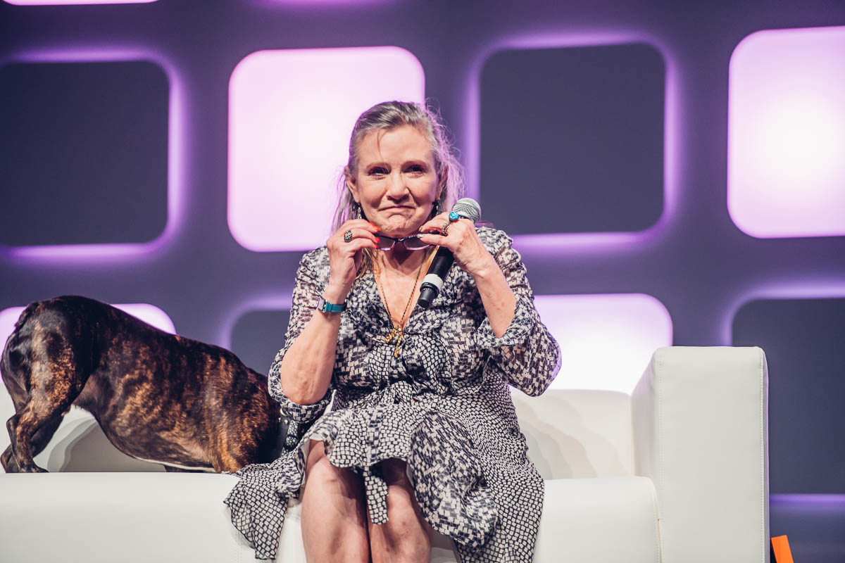Carrie Fisher: You'll always be royalty to us.