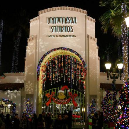 Grinchmas at Universal Studios Hollywood!