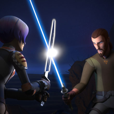 "Star Wars Rebels ""Trials of the Darksaber"""