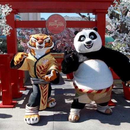 Kung Fu Panda comes to Universal Studios Hollywood