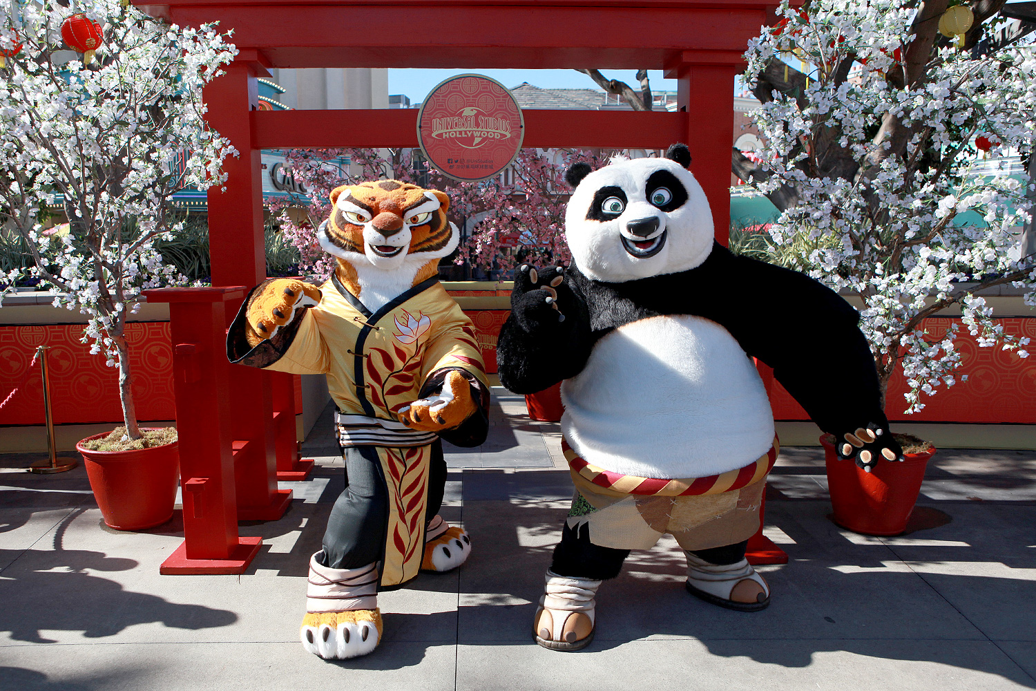 Kung Fu Panda comes to Universal Studios Hollywood