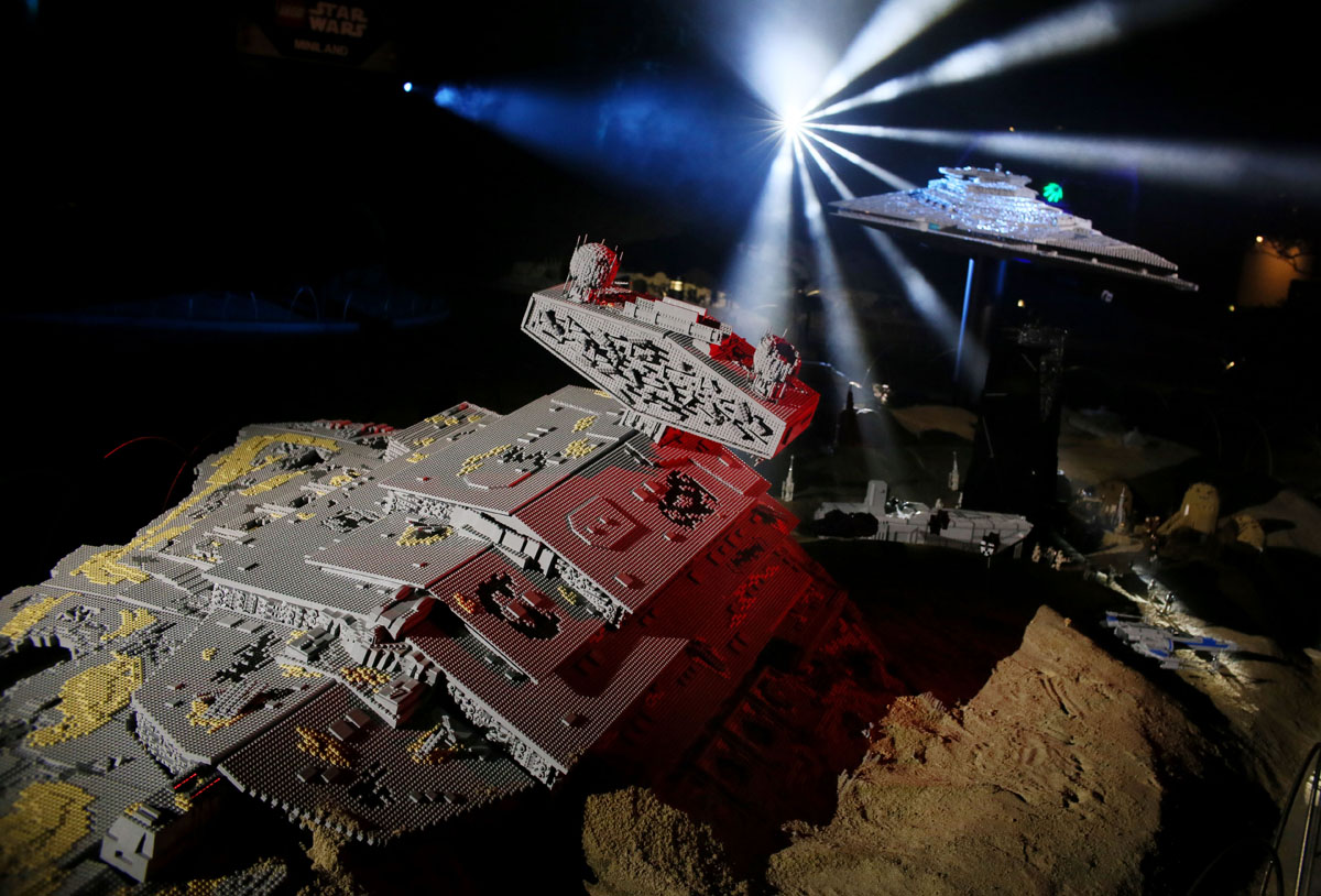 Legoland California adds The Force Awakens scene to Miniland