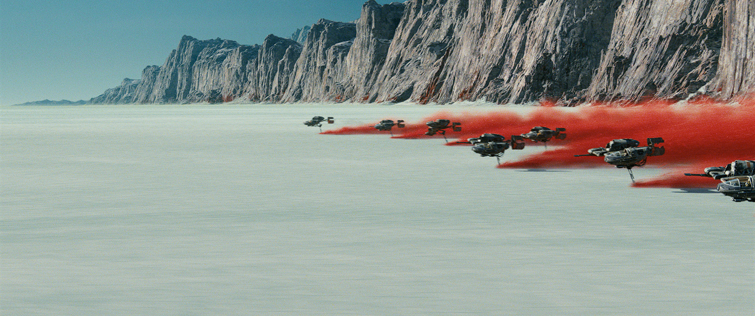 The Last Jedi planet Crait to be featured in Star Tours 2