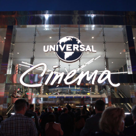 Steven Spielberg Helps Grand Open Universal Cinema at CityWalk