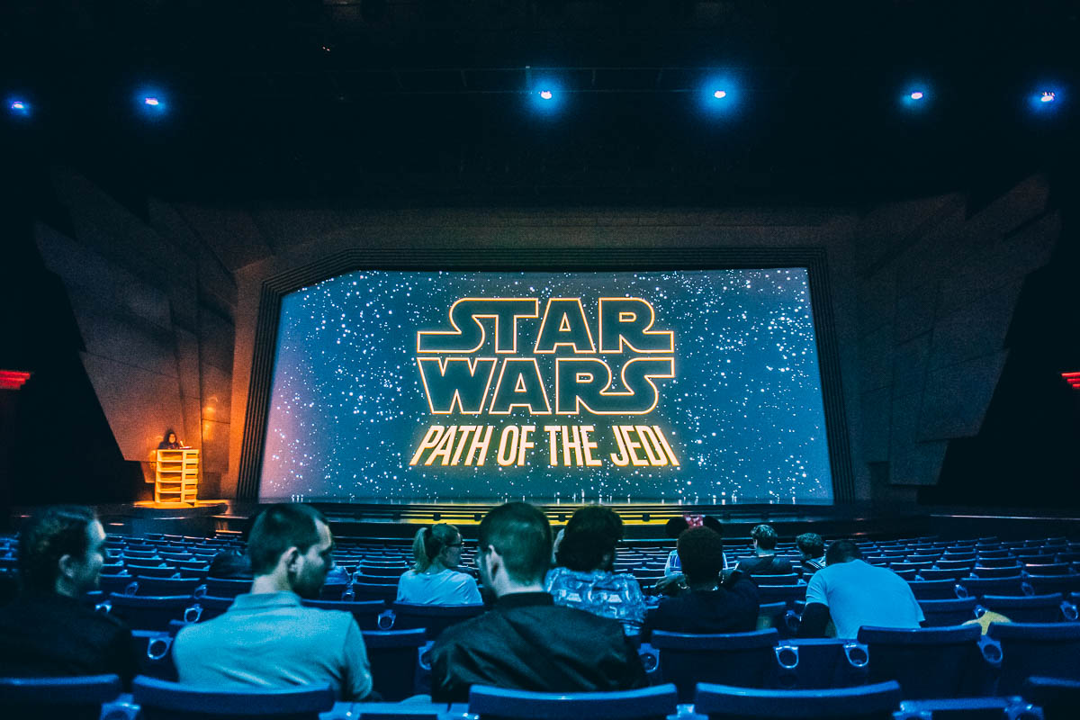 Path Of The Jedi at Disneyland Paris