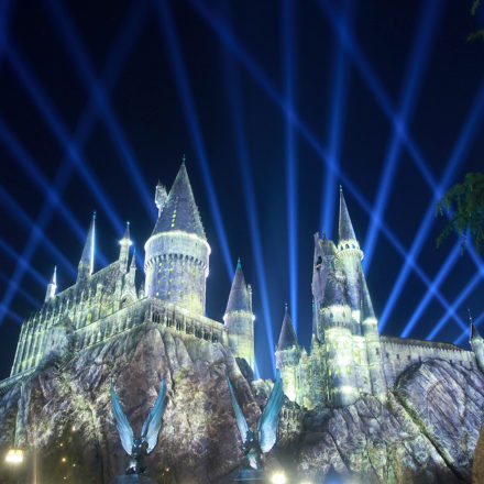 The Night Lights up Hollywood's Wizarding World