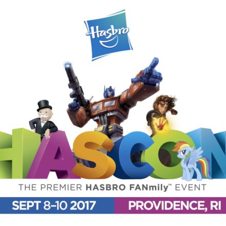 Hasbro's HASCON News Revealed for September 8-10