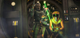 "Saw Gerrera returns to ""Star Wars Rebels"" – Monday 10/23!"