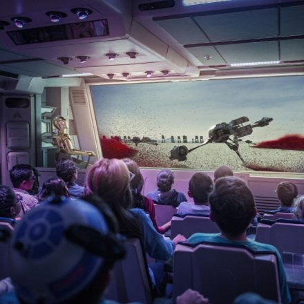 And The Newest Star Tours Destination With Crait Is…