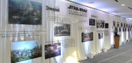 Galaxy's Edge Art Wall Featured at Star Wars Press Conference