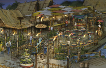 A Tropical Hideaway Comes to Disneyland