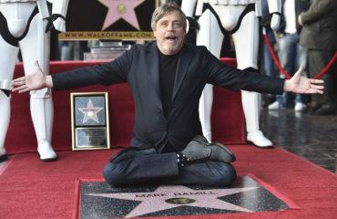 Mark Hamill Receives His Star