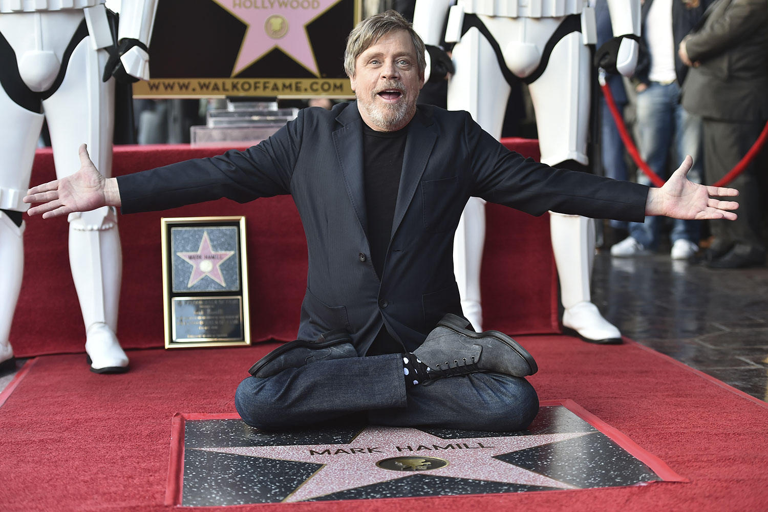 Mark Hamill Receives His Star