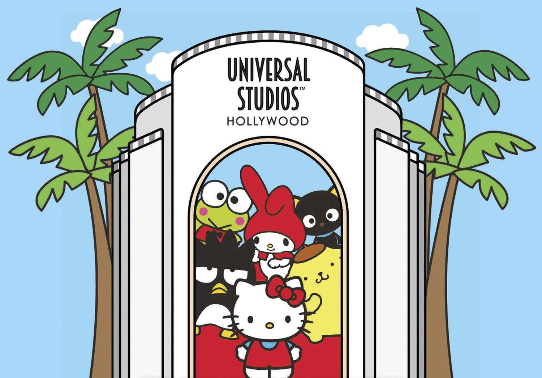 Hello Kitty Goes (Universal Studios) Hollywood!