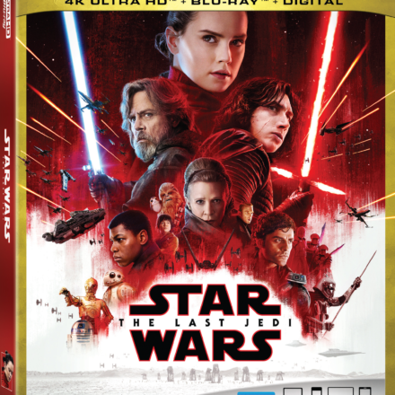 Star Wars: The Last Jedi on Ultra HD and Blu-Ray Hits Home March 27