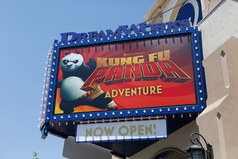 A Look at Kung Fu Panda Adventure and More at Universal Studios Hollywood
