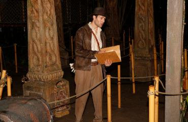Disneyland 90's Nite: Indiana Jones Explores the Temple of the Forbidden Eye