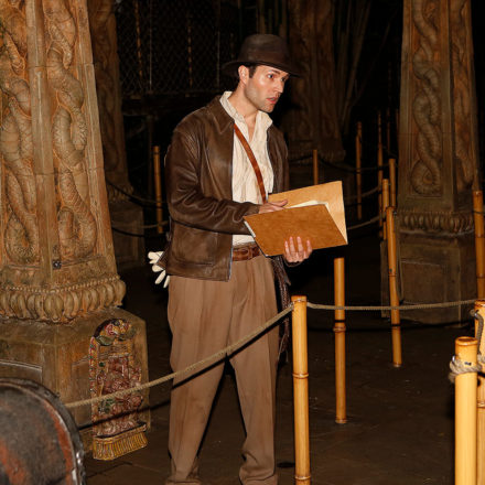 Disneyland 90's Nite: Indiana Jones Explores the Temple of the Forbidden Eye