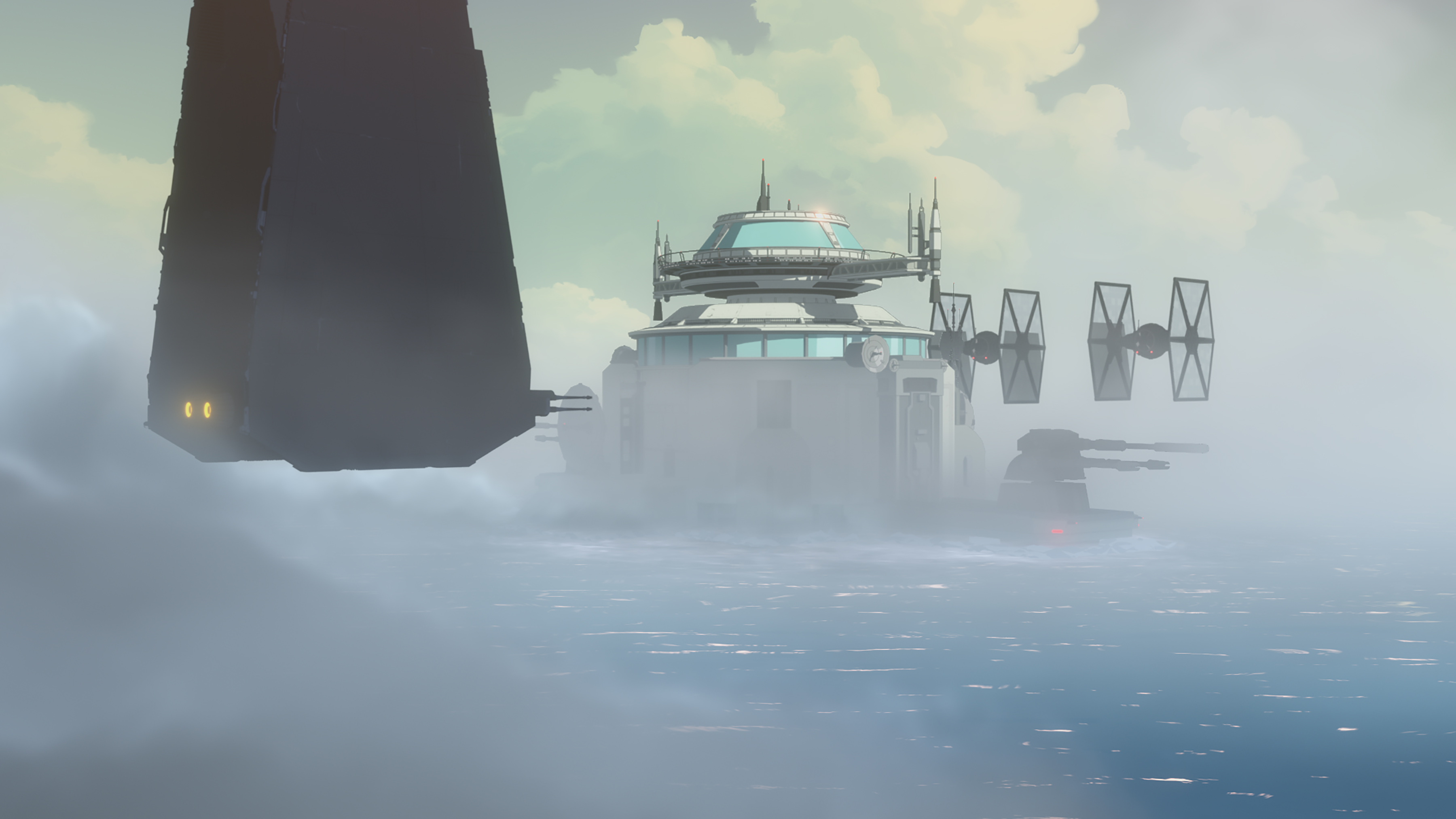 Star Wars Resistance: The Colossus Feels the Full Might of the First Order