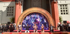 Stars of Avengers: Endgame Get Their Handprints at the TCL Chinese Theatre