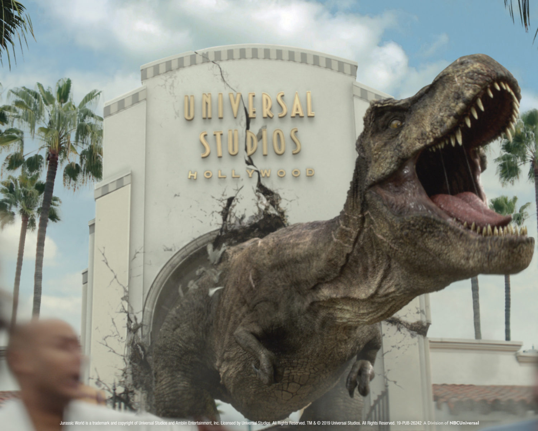 Jurassic World – The Ride: Tyrannosaurus Rex and Mosasaurus