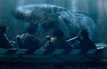 Jurassic World – The Ride: Tyrannosaurus Rex and Mosasaurus Revealed