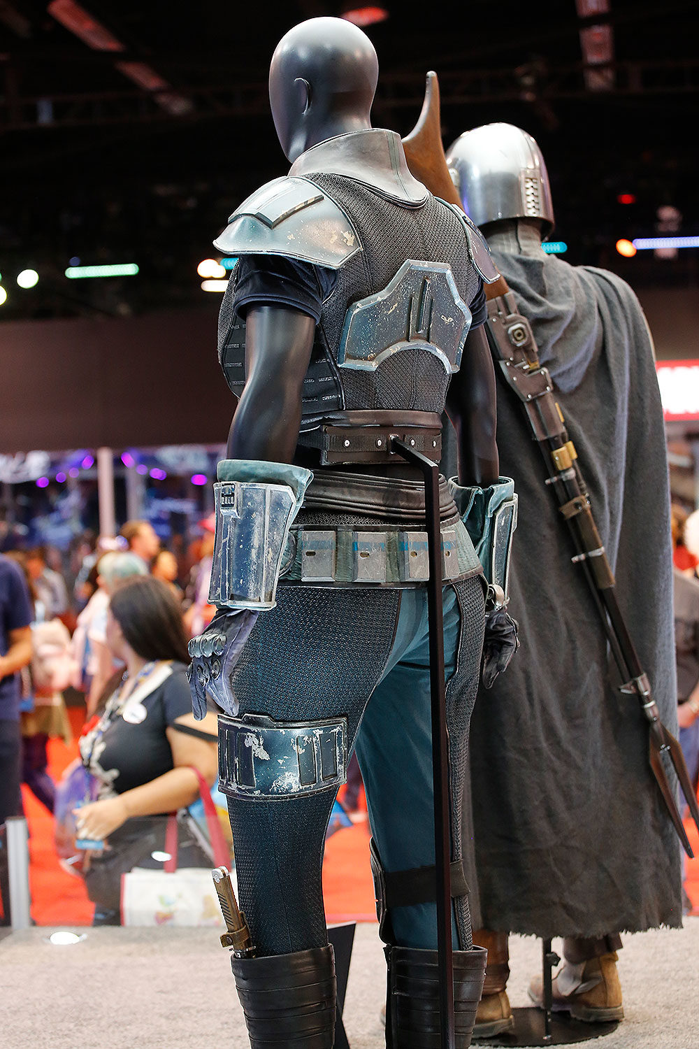 Expo Costumes The Rise Mandalorian, The D23 of  2019: of