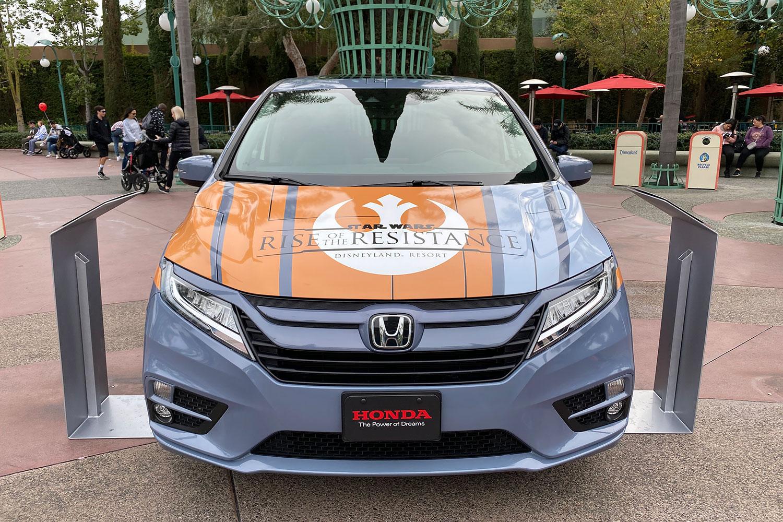 Honda at Disneyland's Rise of the Resistance Odyssey