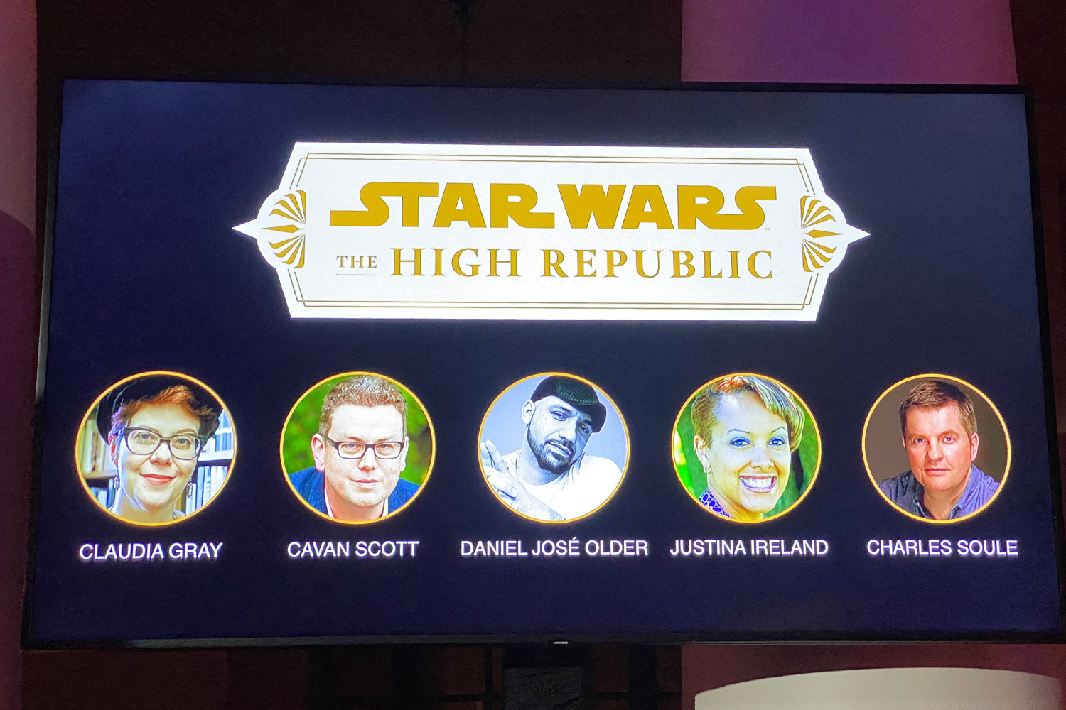 'Project Luminous' Becomes Star Wars: The High Republic