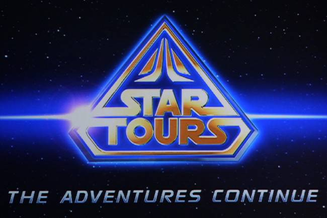 Date for Star Tours Grand Opening at Disneyland
