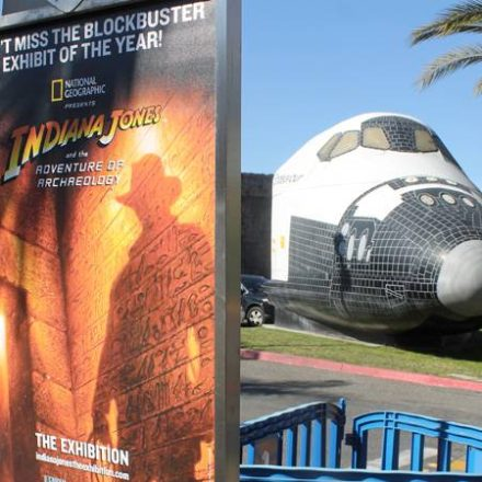 TheArnoldFans Tour Indiana Jones exhibit