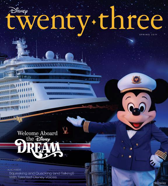 SPRING ISSUE OF DISNEY TWENTY-THREE