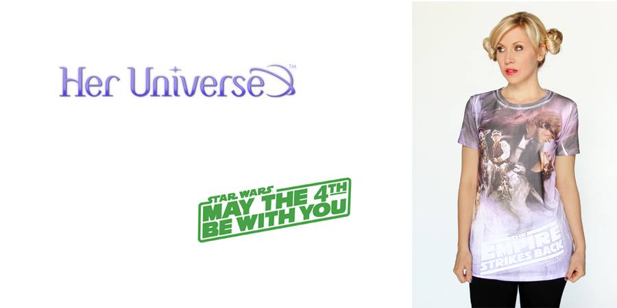 Hot Topic and Her Universe Join Forces for Star Wars Day 2013