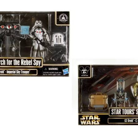 New Exclusive Hasbro Star Tours Sets