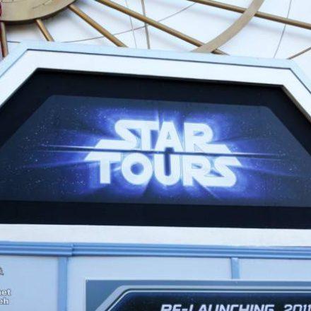 Star Tours Temporary Signage