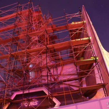 Star Tours Disneyland Construction Photos