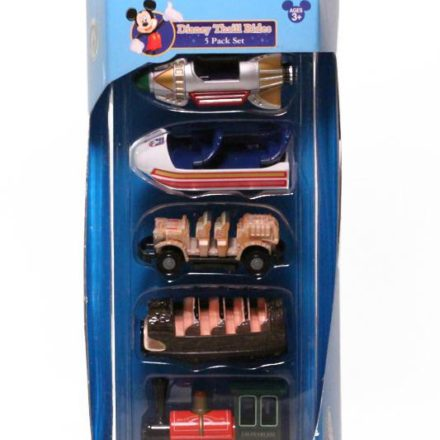 Disneyland Thrill Rides Vehicle 5-pack