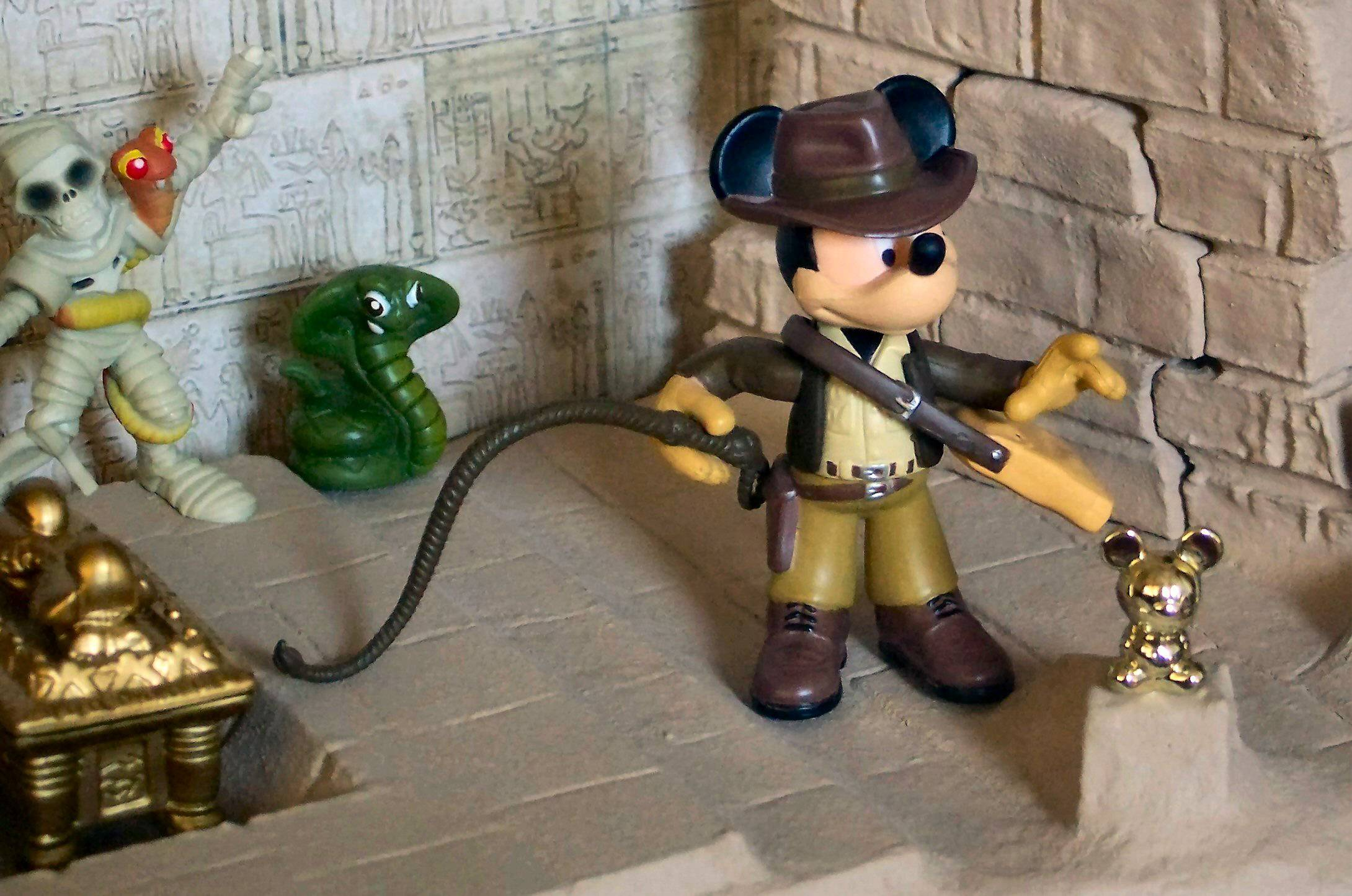 Indiana Jones Mickey Action Figure