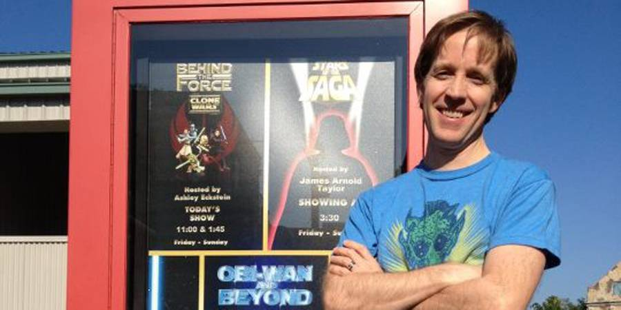 James Arnold Taylor at Star Wars Weekends