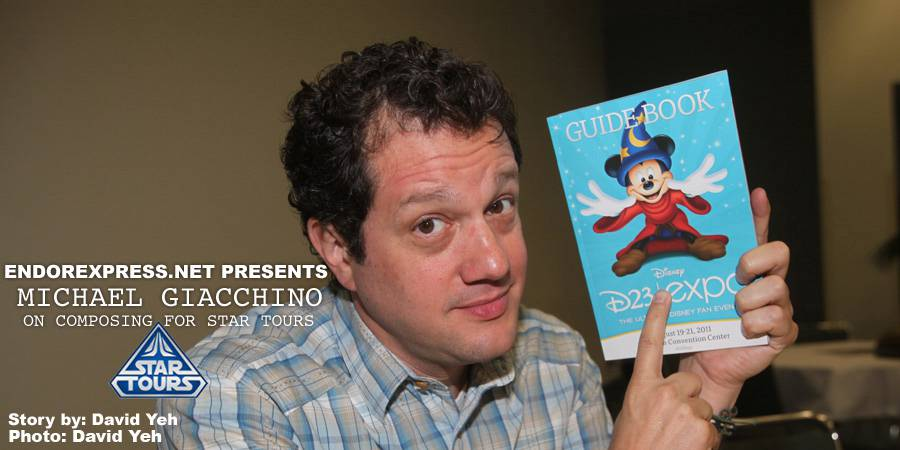 Michael Giacchino and the Music of Star Tours
