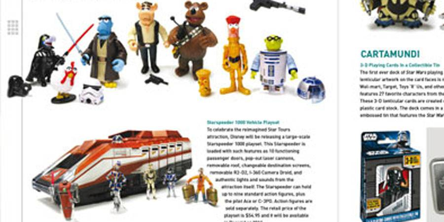 Star Wars Insider issue #129 previews Starspeeder 1000 toy
