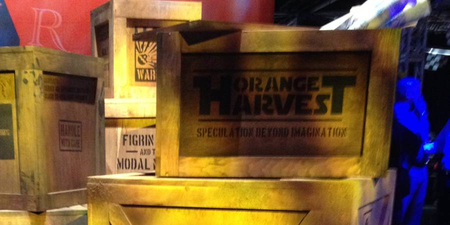 D23 Expo 2013: Orange Harvest