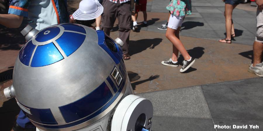 Disneyland Has the Droid You're Looking For