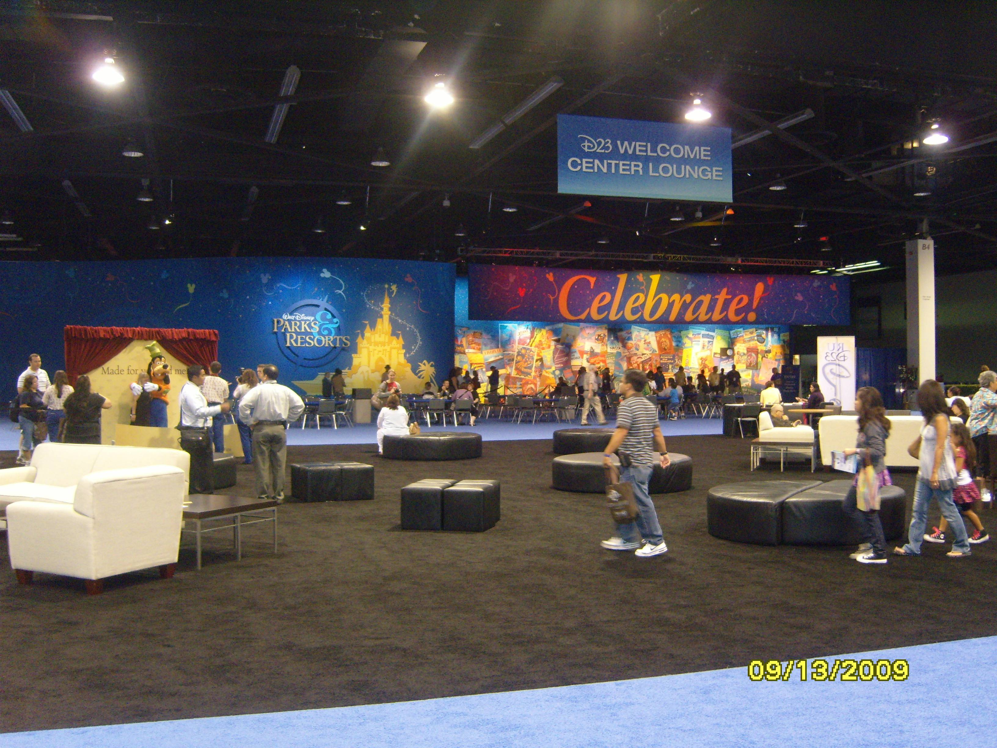 D23 Expo: Parks and Resorts Exhibit