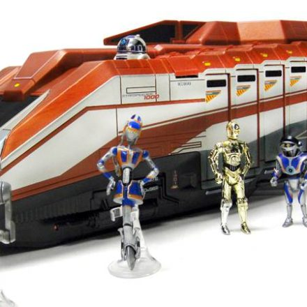 More Images of the Star Tours Starspeeder 1000 vehicle playset