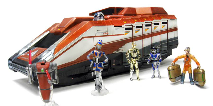 More Images of the Star Tours Starspeeder 1000 vehicle ...